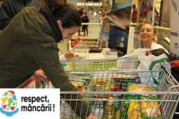 535.000 tone de alimente donate la nivel european! Respect mancarii!