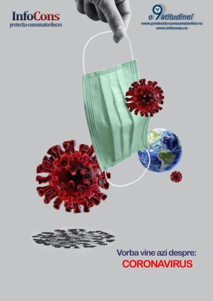 Vorba vine azi despre:  Coronavirus