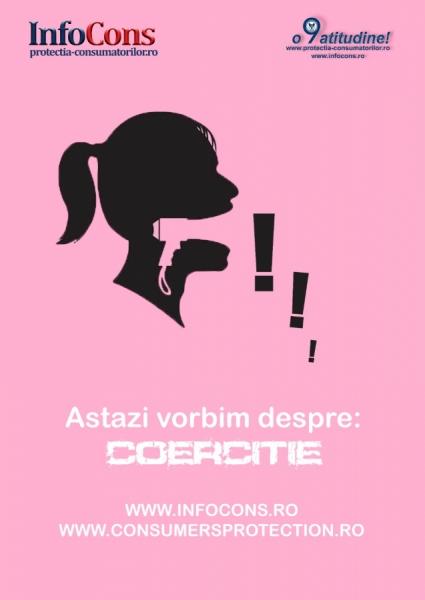 astazi vorbim despre: coercitie