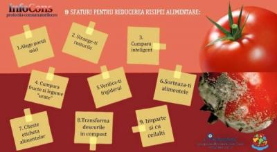 9 Sfaturi pentru reducerea risipei alimentare !!!