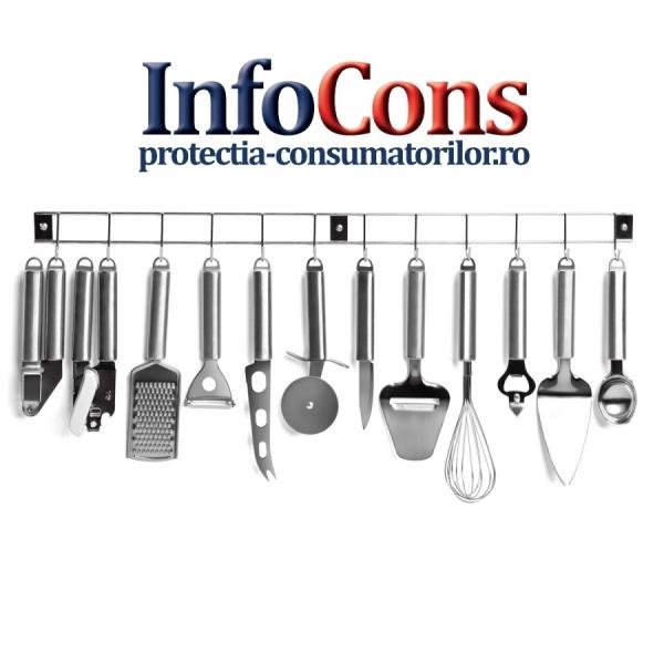 Igiena produselor alimentare - Cuţitele, lingurile şi alte ustensile de bucătărie