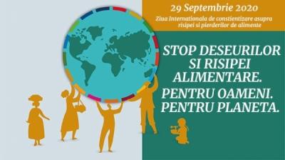Ziua internationala de constienizare asupra risipei si pierderilor de alimente