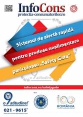 Safety Gate: Sistemul de alertă rapidă produse nealimentare – raport săptămânal 31.10 - 06.11.2020