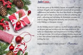 Happy Holidays with A New Attitude!