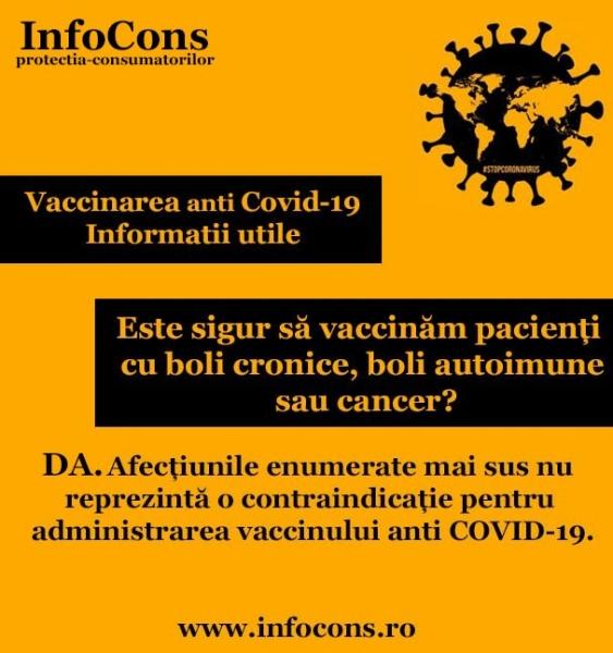 Este sigur să vaccinăm pacienți cu boli cronice, boli autoimune sau cancer?