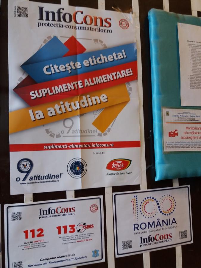 Consiliu Judetean Bacau, Localitatea  Bacau InfoCons - Protectia Consumatorului