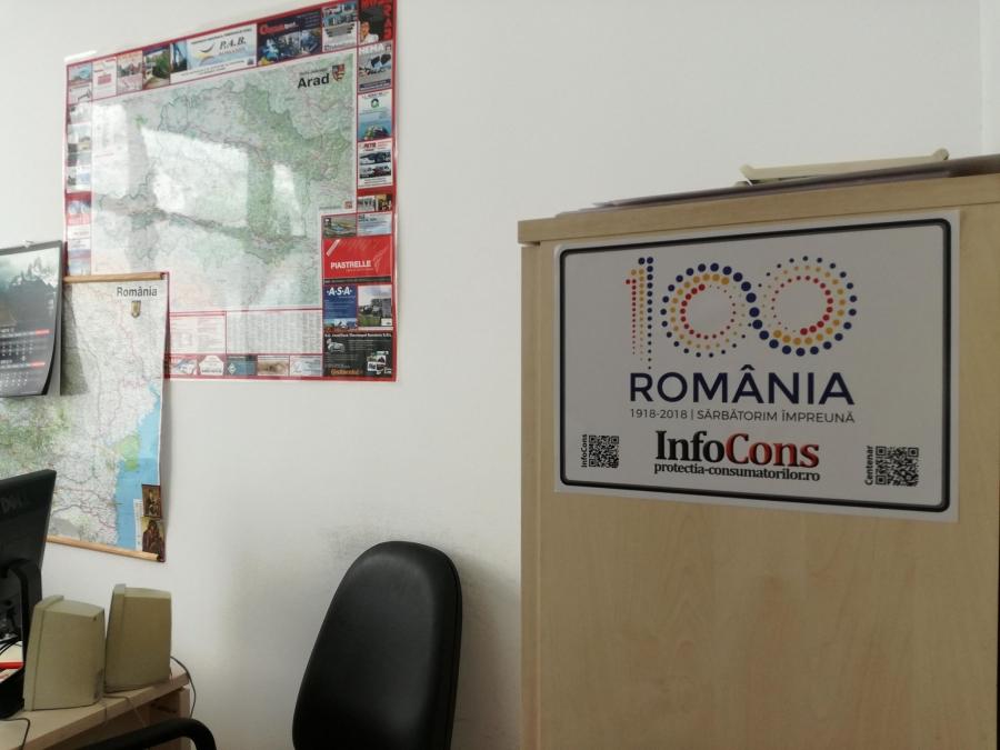 Consiliul Județean Arad, Localitatea Arad InfoCons - Protectia Consumatorului
