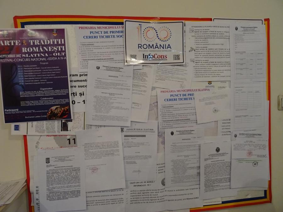 Primăria Municipiului Slatina, Judetul Olt InfoCons - Protectia Consumatorului