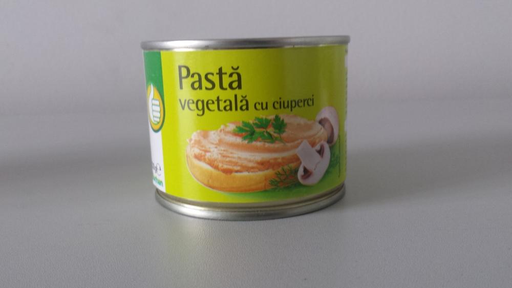 Auchan pasta vegetala cu ciuperci 200g
