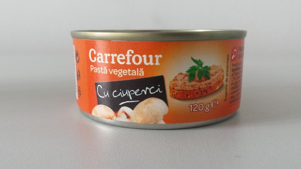 Carrefour pasta vegetala cu ciuperci 120g