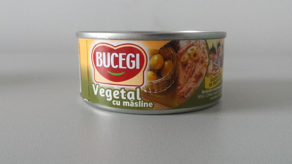 Bucegi pate vegetal cu masline 120g