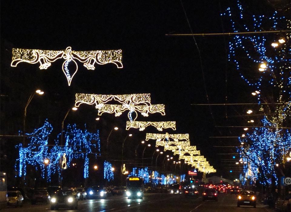 Primarii - iluminat festiv 2014