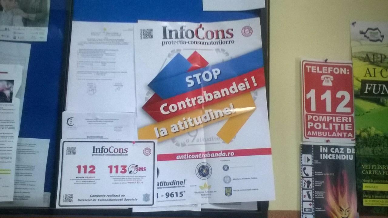 """Diseminare Materiale - Campania """"112-113 - Numere de urgență"""""""