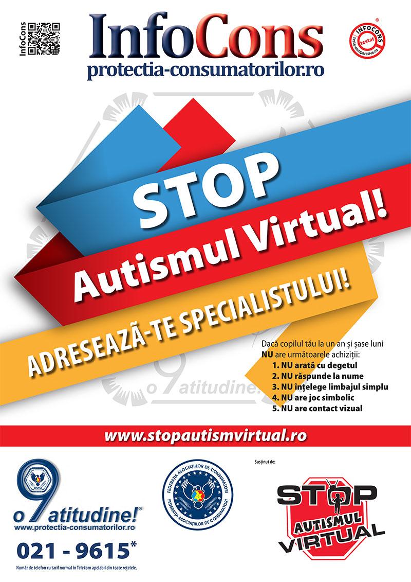 Stop autismului virtual