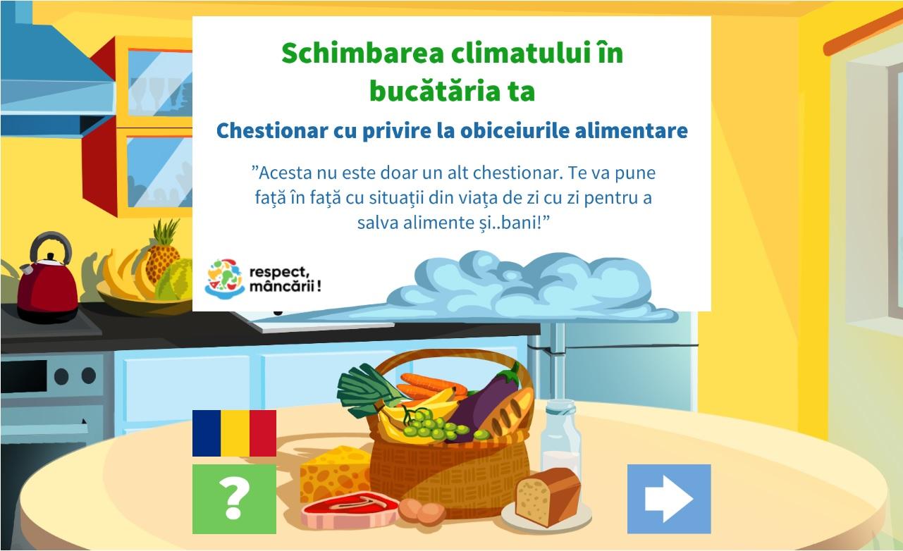 Schimbarea climatului in bucatarie