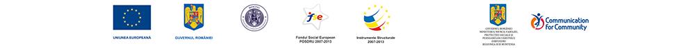 Uniunea Europeană | Guvernul României | Ministerul Fondurilor Europene | F.S.E. POSDRU 2007-2013 | Instrumente structurale 2007-2013 | Guvernul României Ministerul Muncii, Familiei, Protecției Sociale și Persoanelor Vârstnice OIRPSTRU Regiunea Sud Muntenia | Comunication for Community