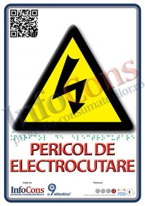 placuta-braille-A6-pericol-de-electrocutare