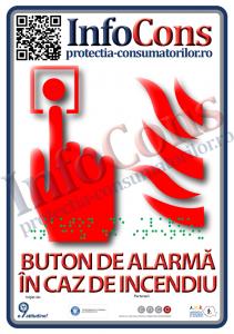 placuta buton incendiu A5