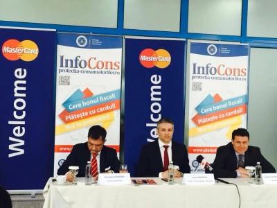 """A.N.P.C.P.P.S. Romania – InfoCons lanseaza astazi Campania Nationala """"Cere bonul fiscal!""""  sectiunea """"Plateste cu cardul!"""" - Protectia Consumatorilor"""