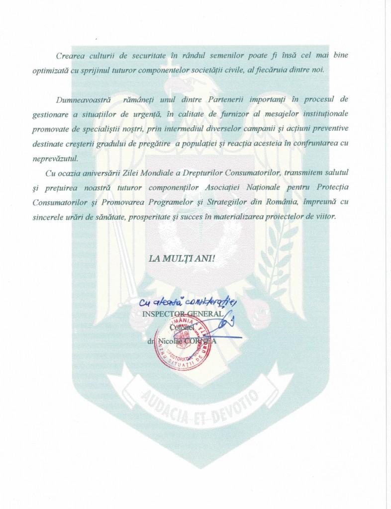 Colonel Dr. Nicolae Cornea - Inspector General - Ministerul Afacerilor Interne, Departamentul pentru Situatii de Urgenta - Inspectoratul General pentru Situatii de Urgenta